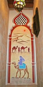 pochoir porte orientale