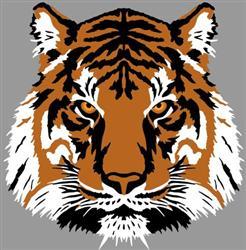 Pochoir tigre 3d