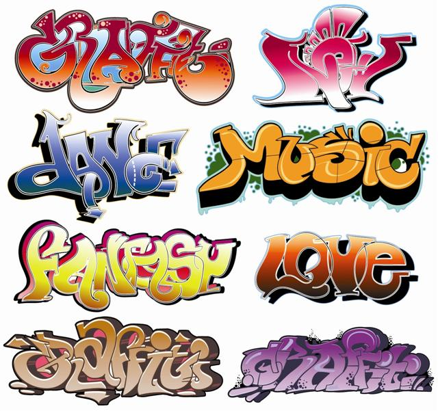 Sticker graffitis 2 pochoir grafitis small