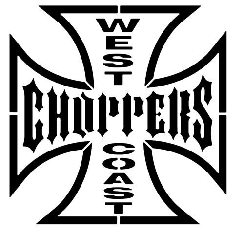West coast choppers pochoir style pochoir p